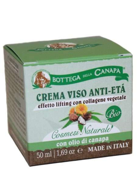 Crema Viso Anti Eta effetto lifting con collagene vegetale